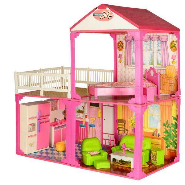 Выбираем домик для куклы. Виды и особенности