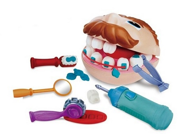 Детский набор стоматолога с бормашинкой