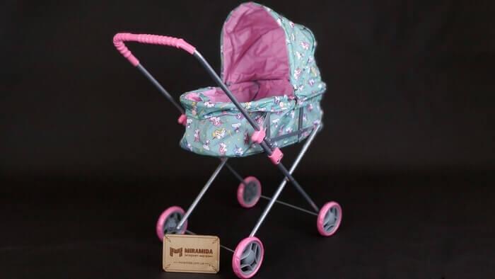 Классическая коляска для кукол с люлькой