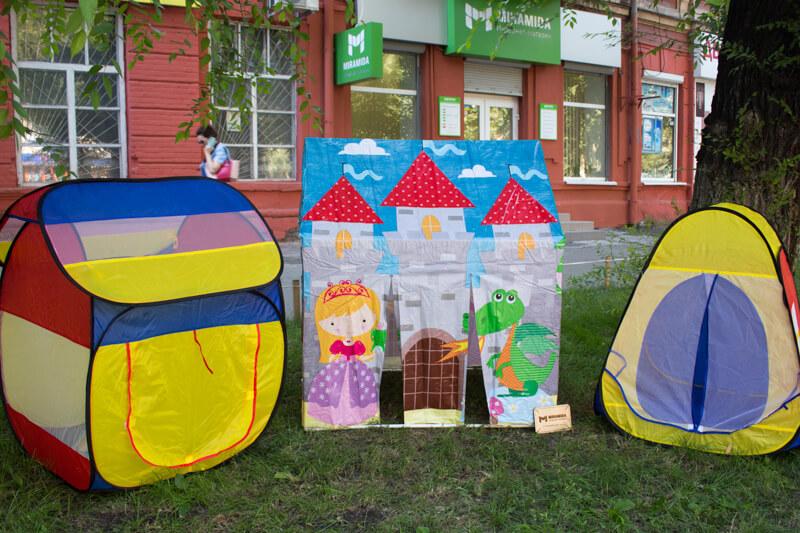 Виды детских палаток