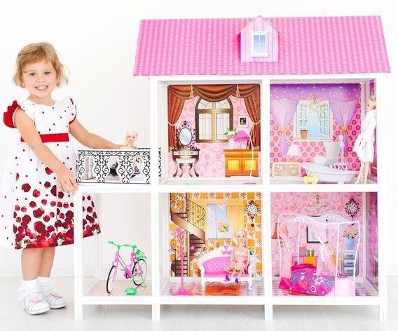 Кукольный домик «Балерина» - купить деревянный домик для кукол для ... | 472x568