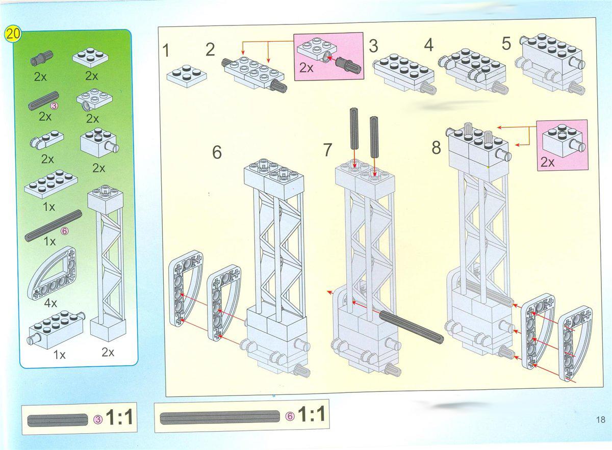 Схемы сборки конструкторов брикс