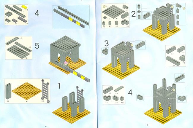 Лего Сухопутные Войска инструкция - картинка 2
