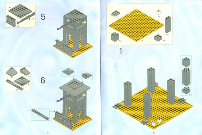 Лего Сухопутные Войска инструкция