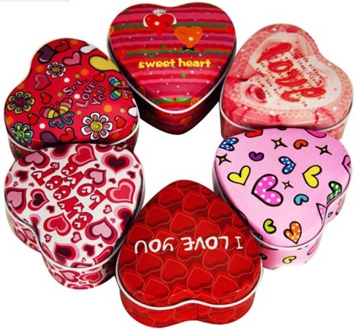 bk toys ltd. Шкатулка для девочек «Сердце» 6 видов E03256