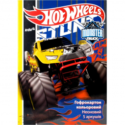 Цветной неоновый гофрокартон Hot Wheels