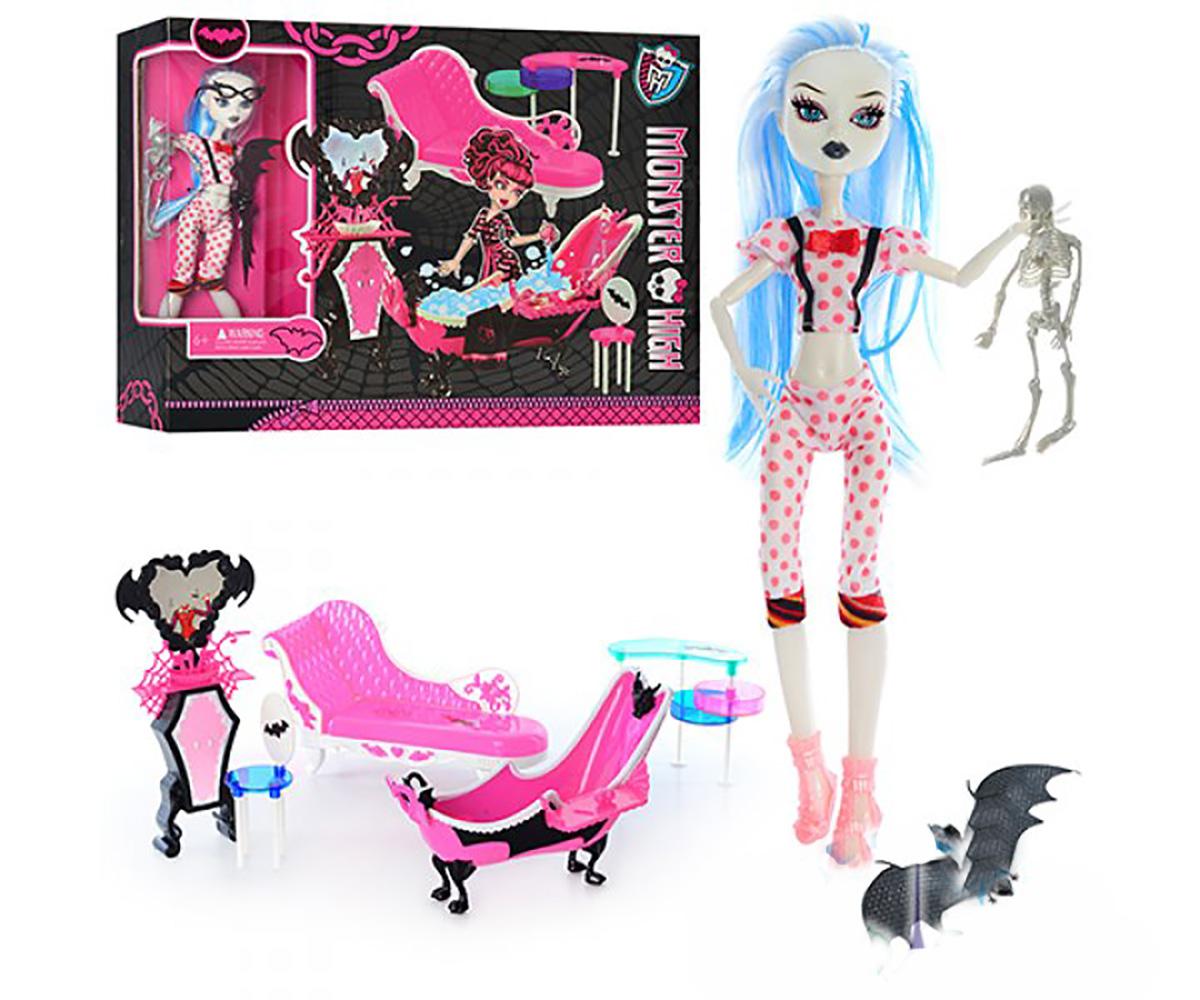 Кукла Monster High с аксессуарами 66535 купить в Днепропетровске, Киеве, Одессе, Харькове, Запорожье, Львове. Кукла Monster High