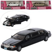 Машинка Kinsmart Ford Lincoln Town Car Stretch Limousin KT 7001 W