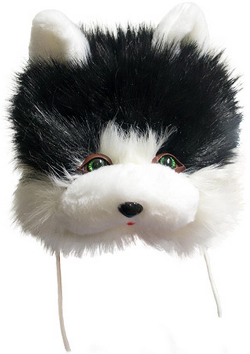 Черная шапочка кота 235