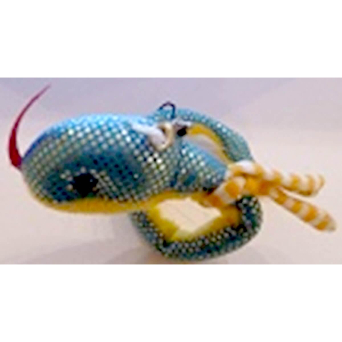 Мягкий брелок Змея А002