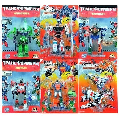 JT Трансформер (6 видов) 8003-06-14-19-21-60