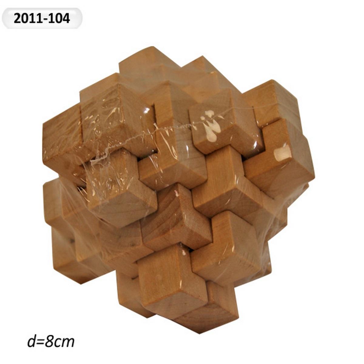Головоломка деревянная 2011-104