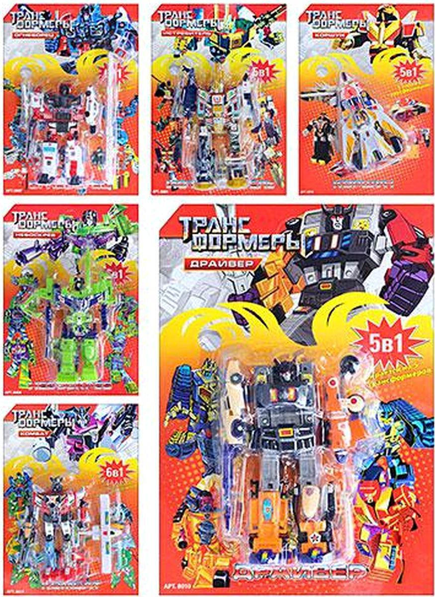 Детский Трансформер 6 видов 8001-04-07-10-12-17