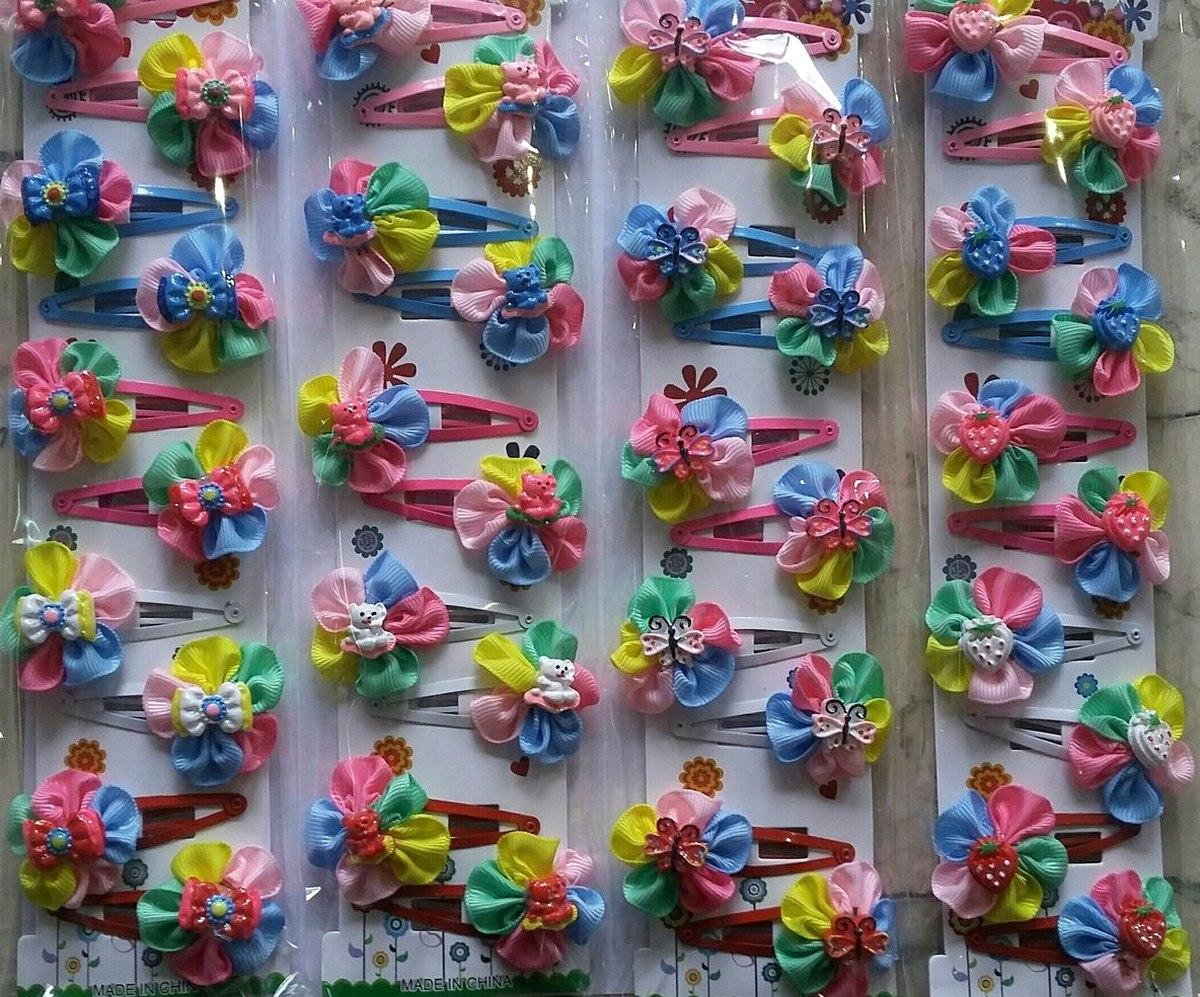 Заколки детские «Цветок» 3719012