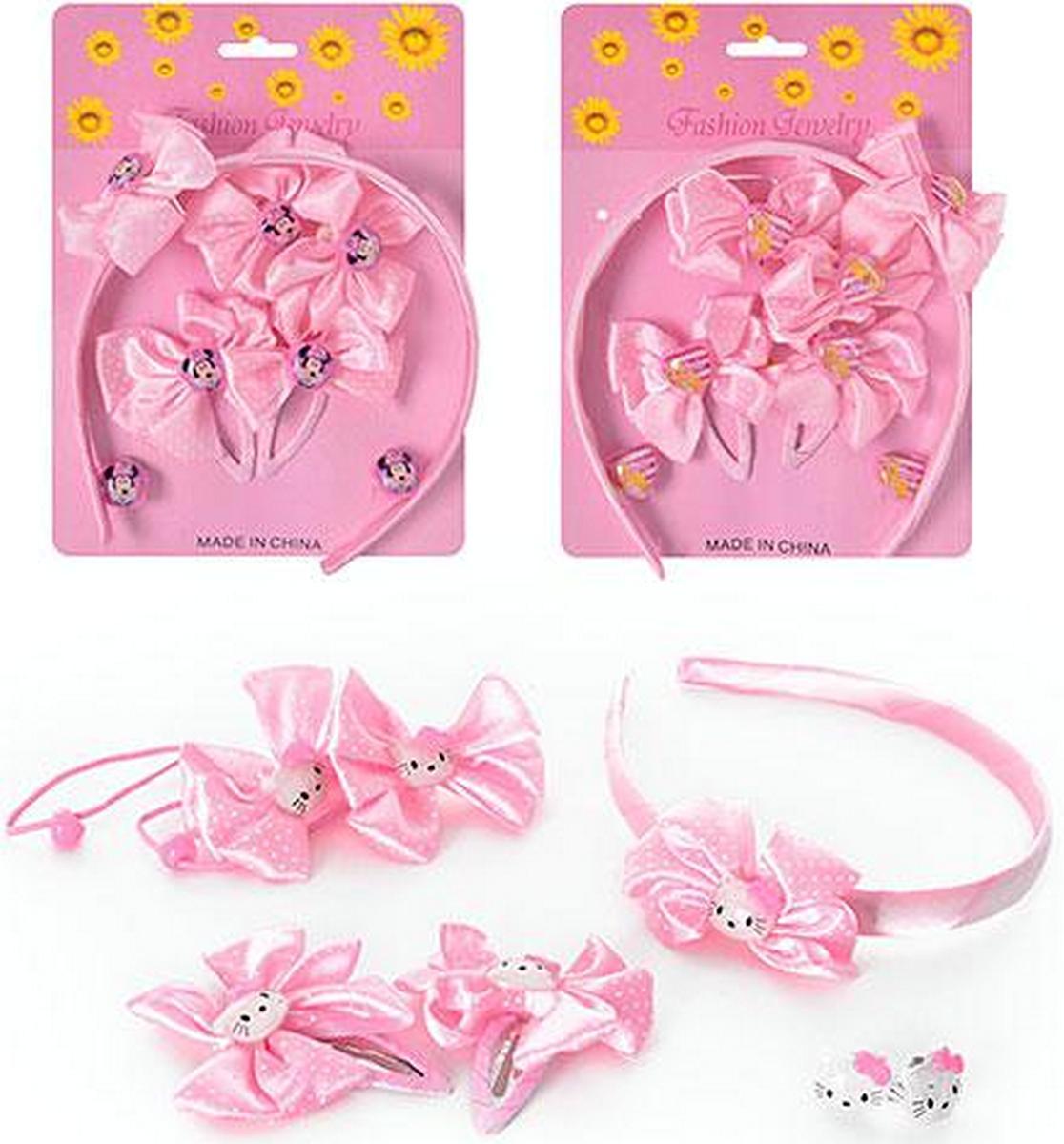 Набор аксессуаров для девочки 3 вида D13676