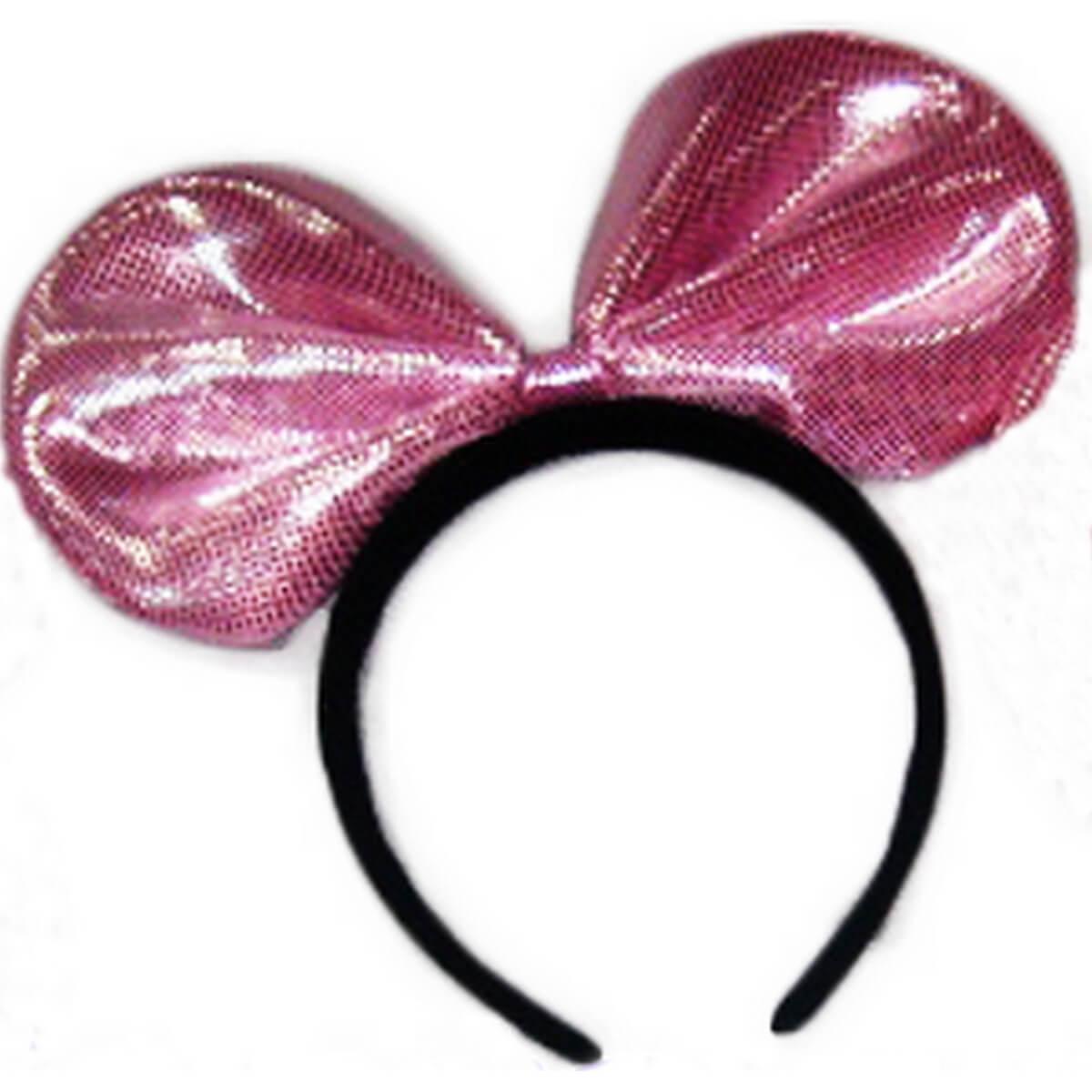 Обруч розовый «Бантик» 0900-107