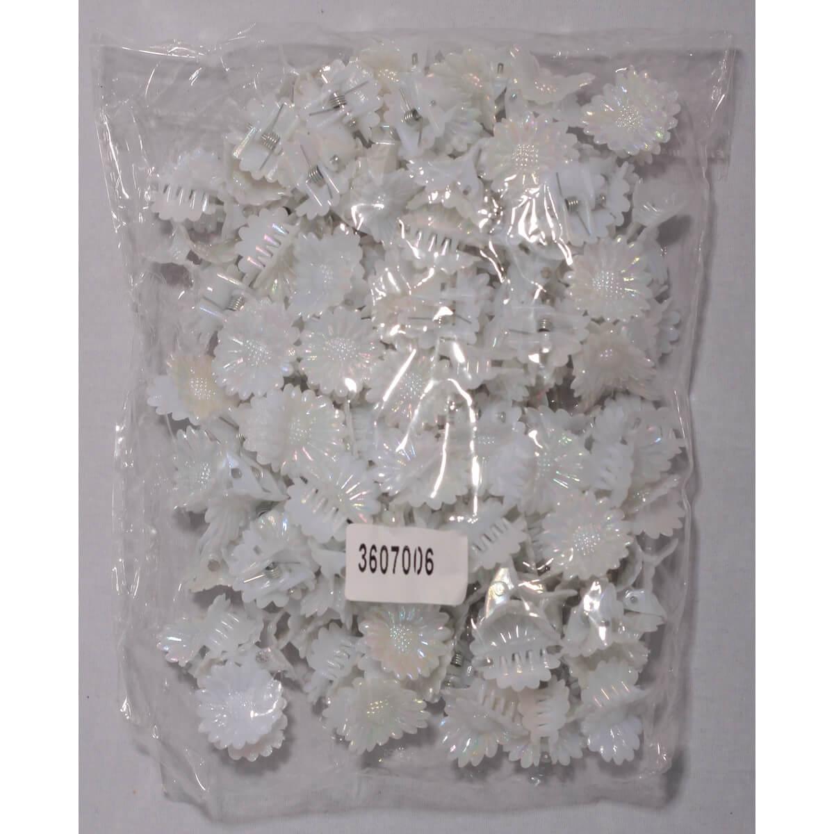 Крабики маленькие для волос «Ромашка» 3607006