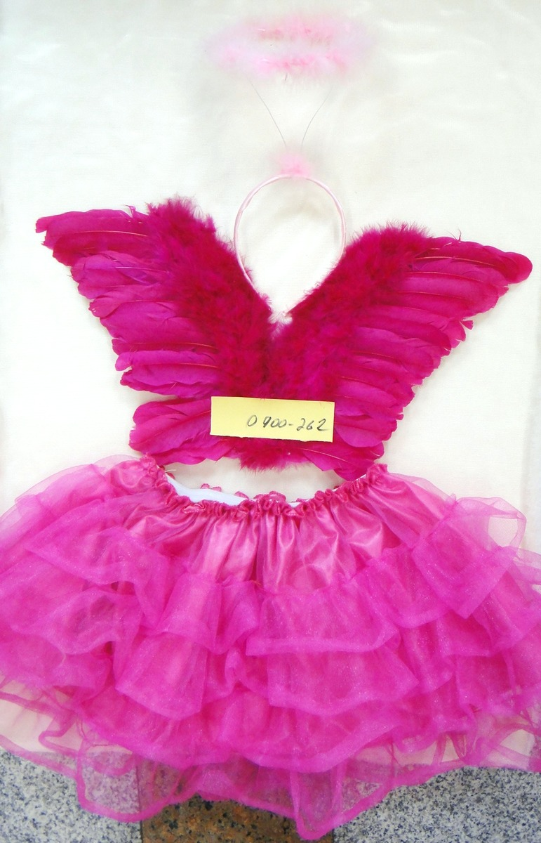 Детские крылья с юбкой 0900-262