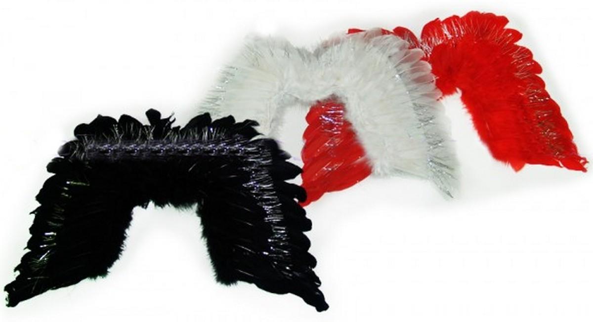 Крылья с перьями 3 цвета 6098-16-4