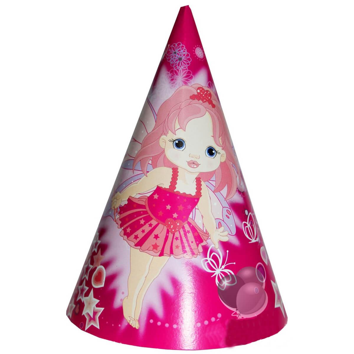 Колпачки праздничные «Маленькая Фея» 009940