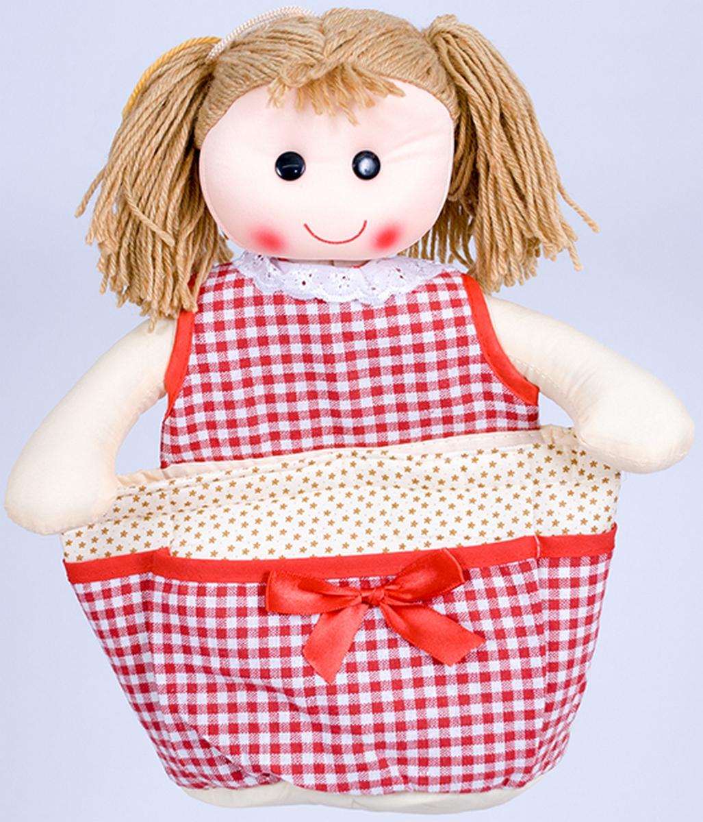 Как сшить куклу с карманами