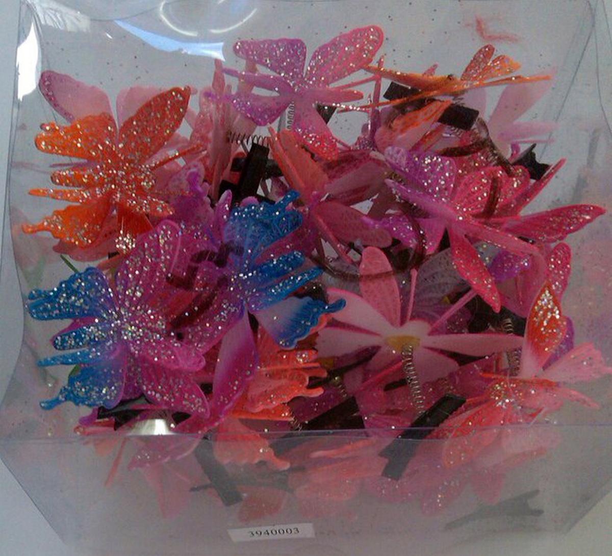 Зажим детский «Бабочка» 3940003