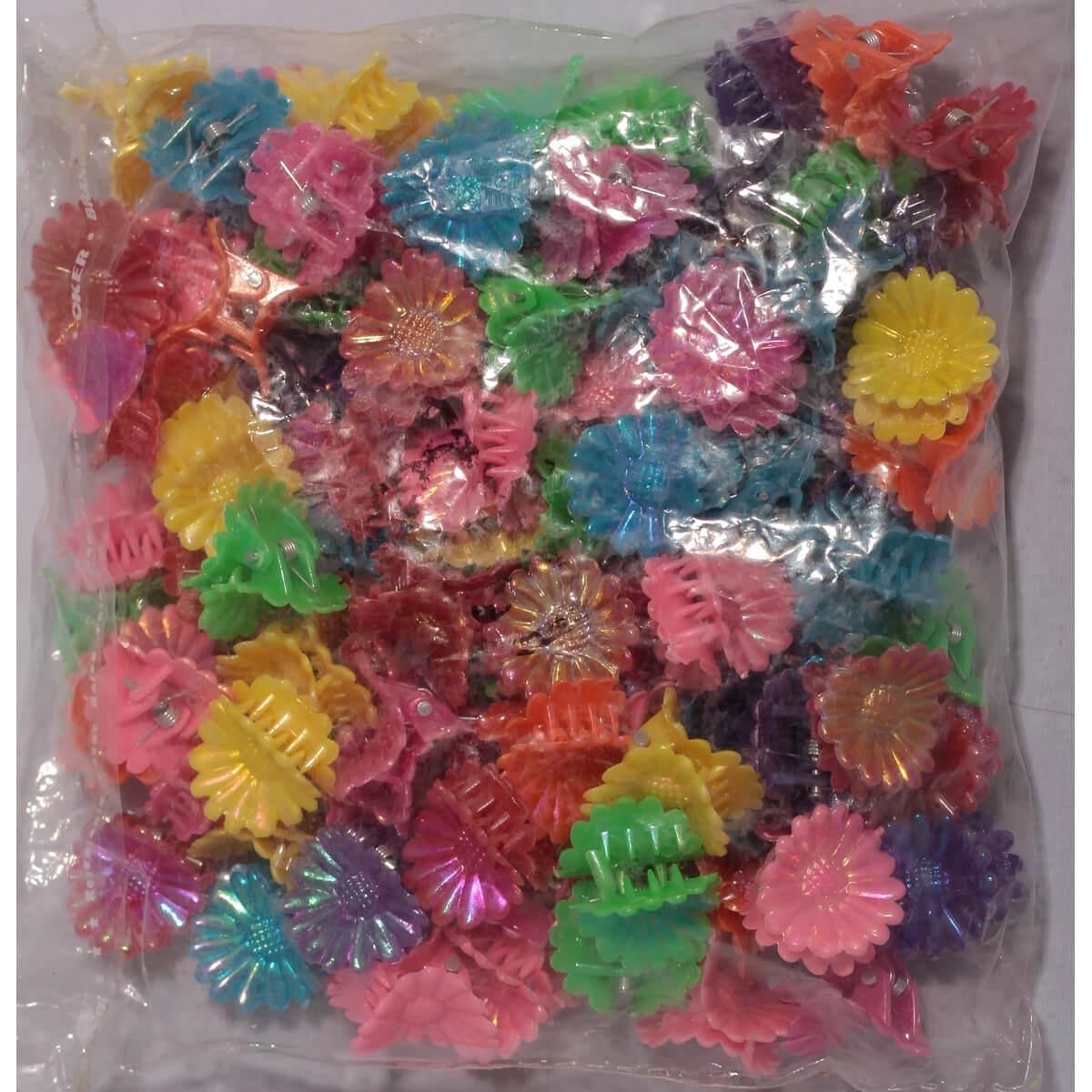 Крабики перламутровые для волос «Ромашка» 3607003