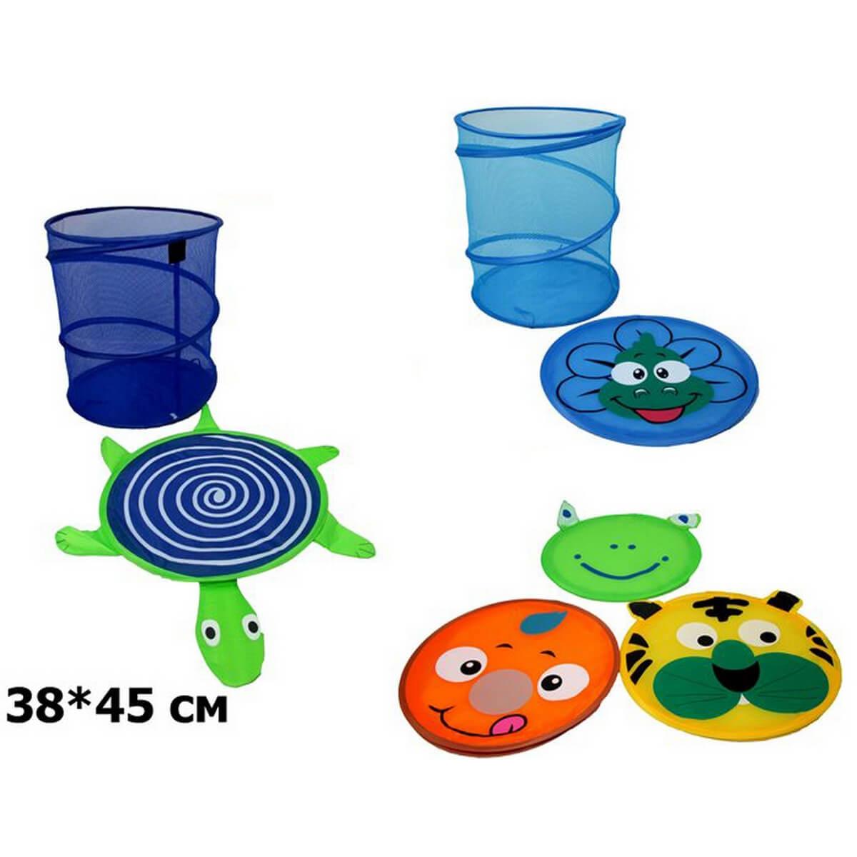 bk toys ltd. Корзина для игрушек 6 видов BT-TB-0005