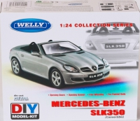 Сборная машина Welly «Mercedes-Benz SLK» 22462C-KB
