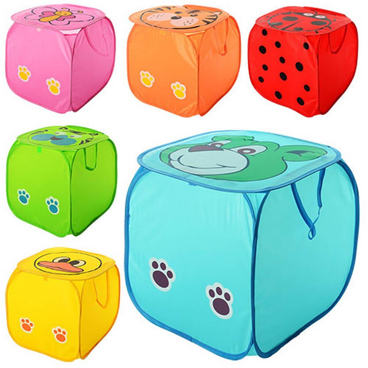 bk toys ltd. Корзина для игрушек с животным M 2508
