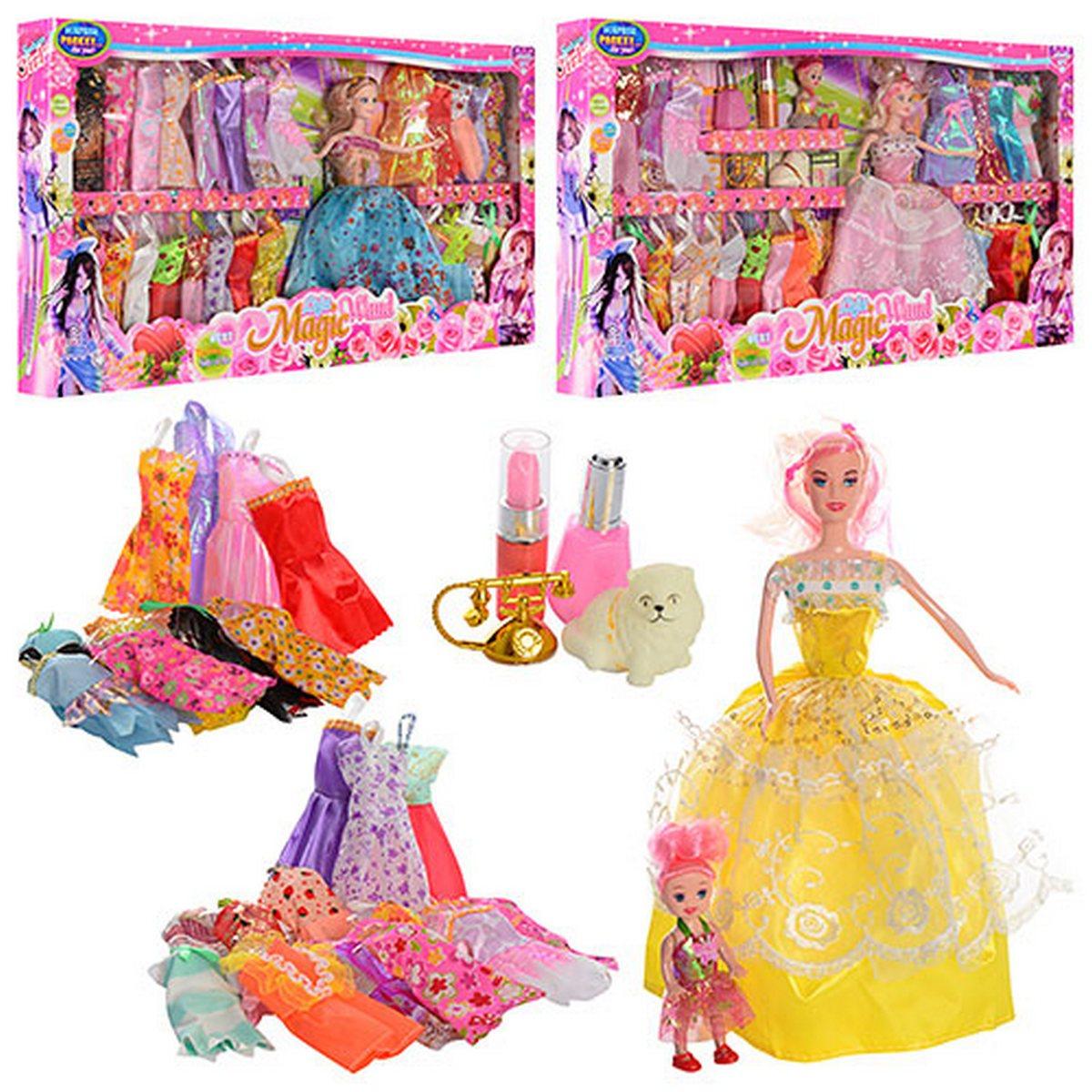 Кукла с нарядами и аксессуарами 2 вида YX017A1-A2 купить в ...
