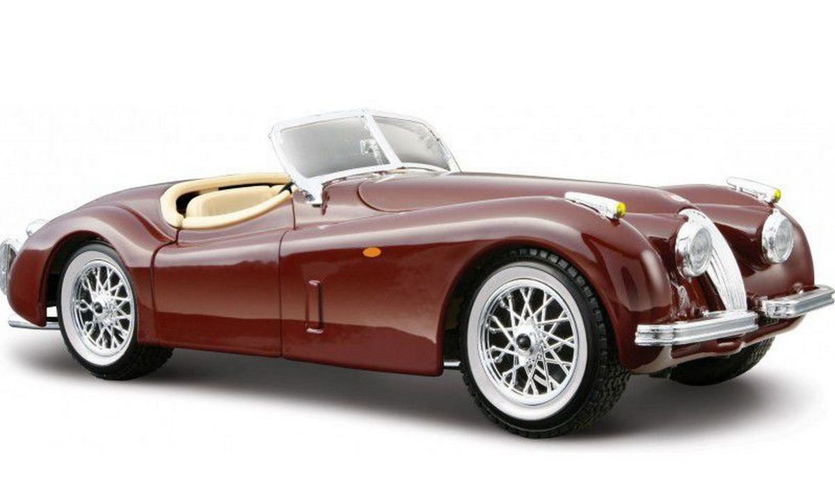 bburago Авто-конструктор «Jaguar XK 120 Roadster» 18-25061