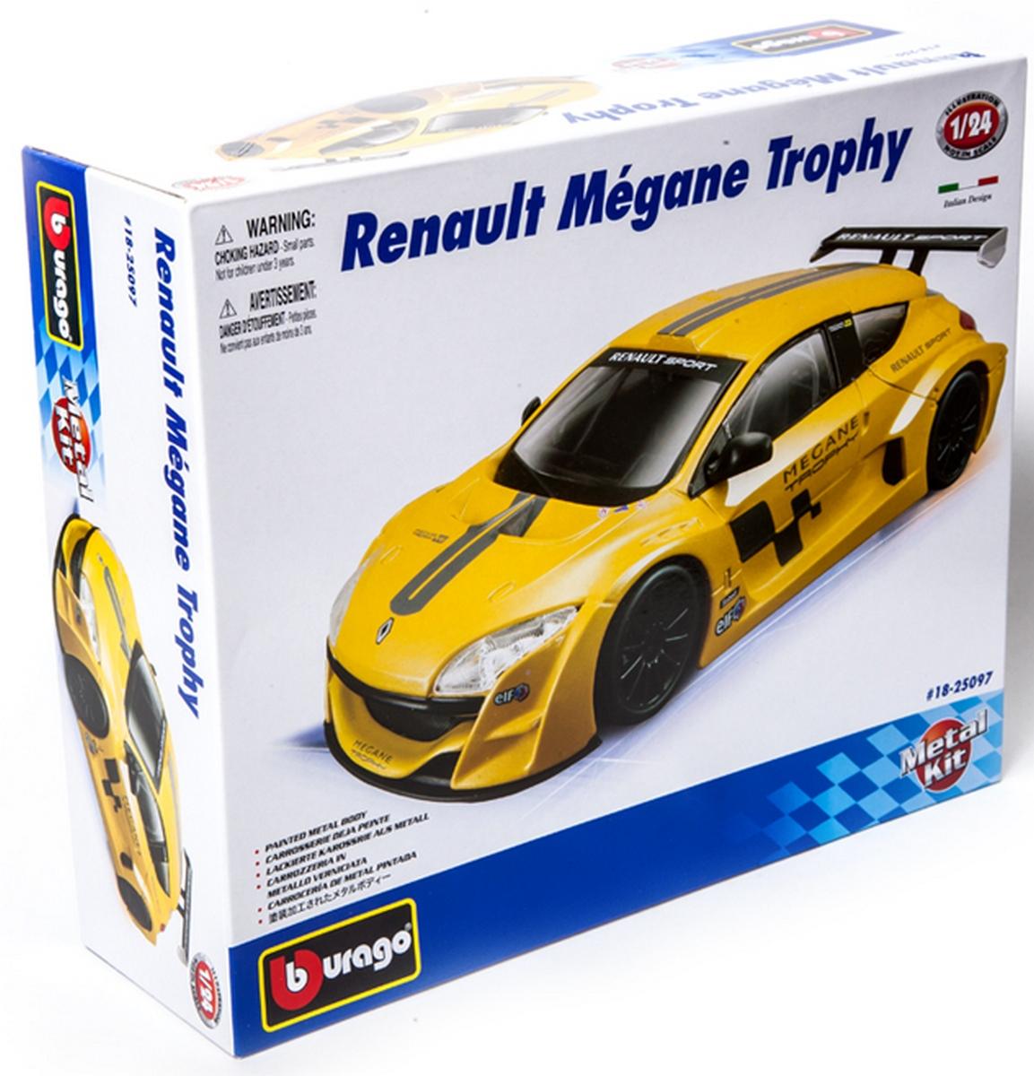 bburago Авто-конструктор «Renault Megane Trophy» 18-25097