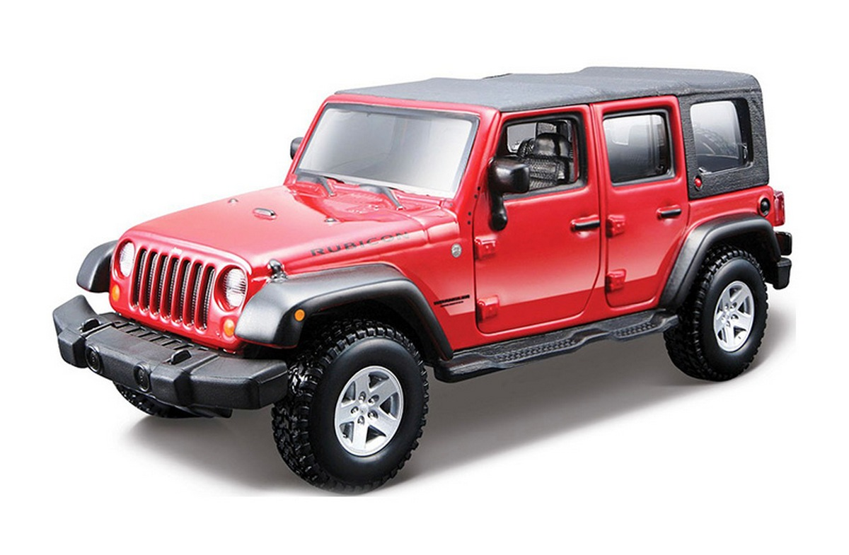 bburago Авто-конструктор «JEEP Wrangler Unlimited Rubicon» 18-45121