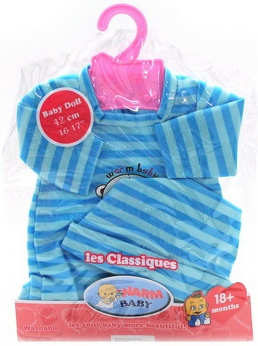 baby doll Одежда для пупса с шапочкой «Baby Born» BJ-404B