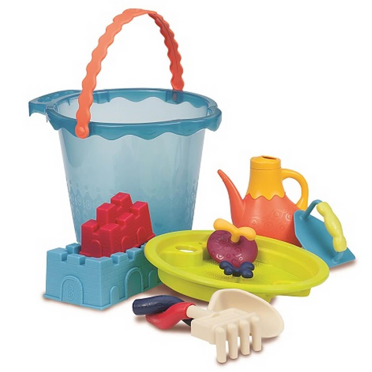 battat Набор для игры с песком и водой «Мега ведерце Море» BX1444Z