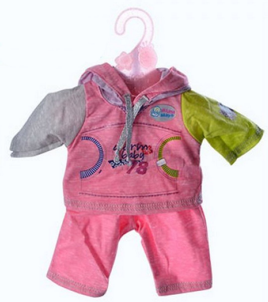 baby doll Одежда для пупса «Baby Born» 4 вида на вещалке BJ-414-DBJ-442-445A-B