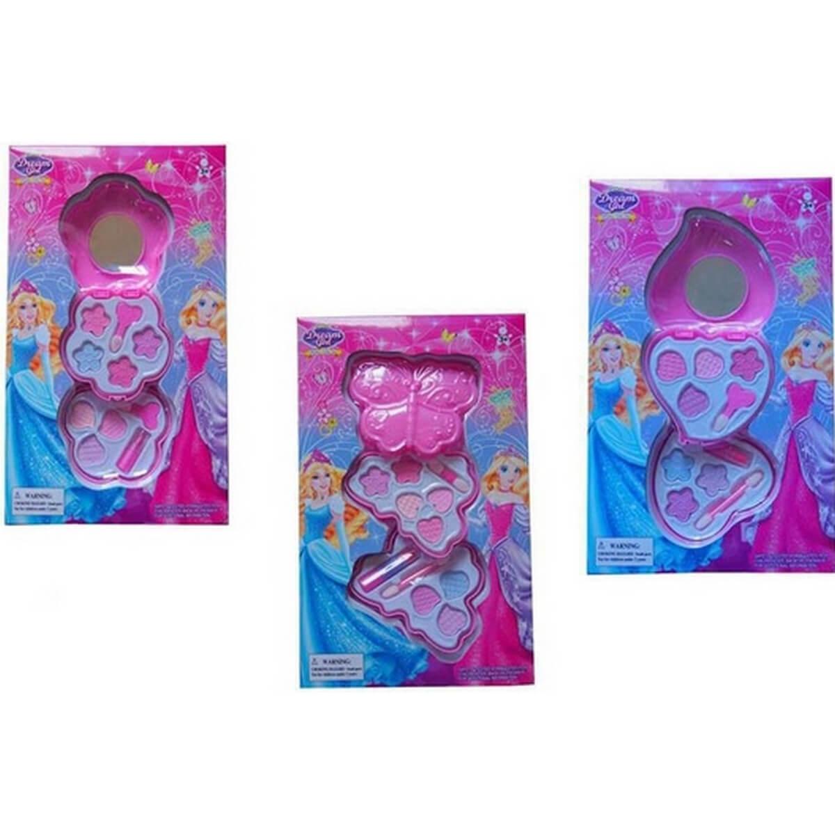 bk toys Набор детской косметики с зеркальцем 3 вида 5319ABC