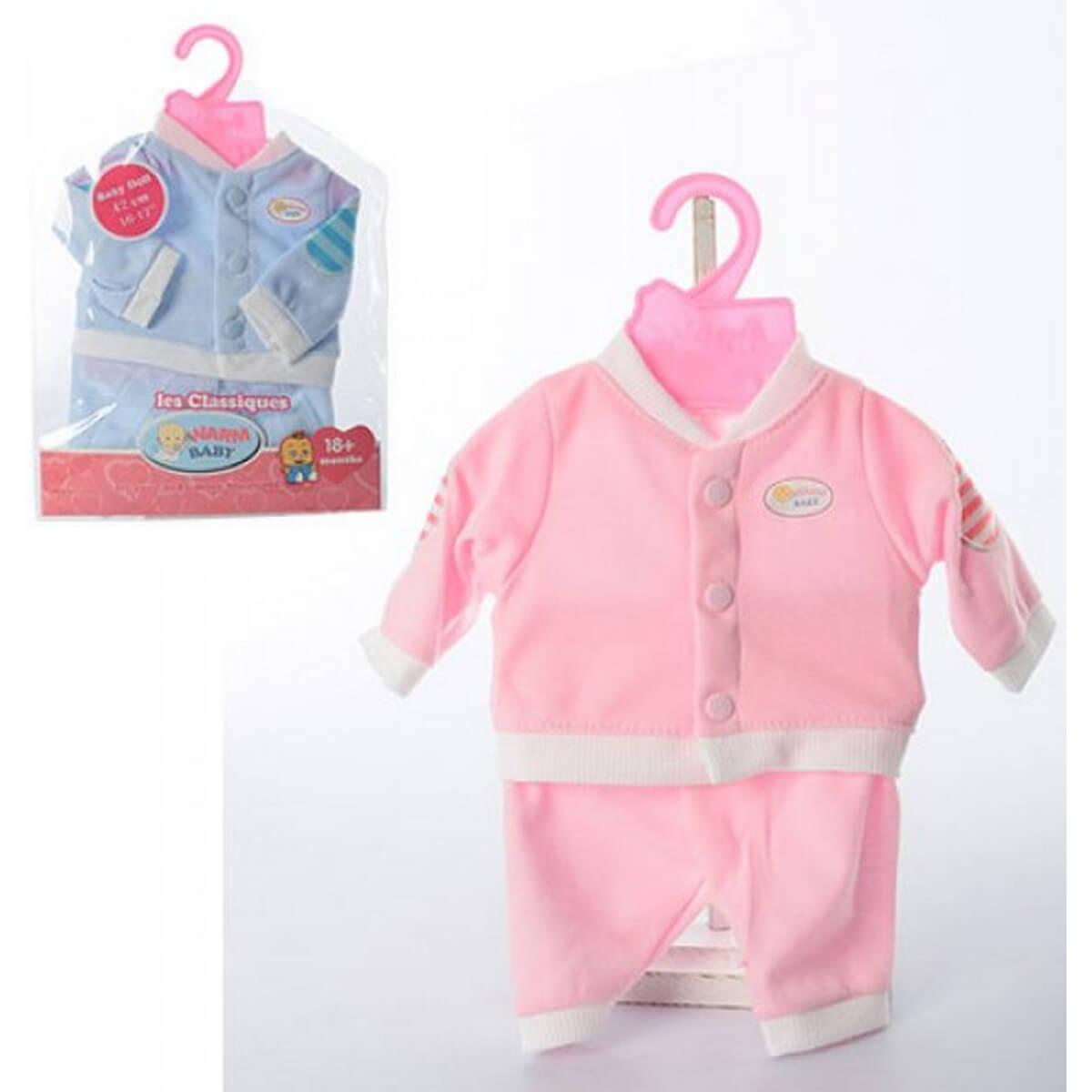 baby doll Одежда для пупса 2 вида BJ-421AB
