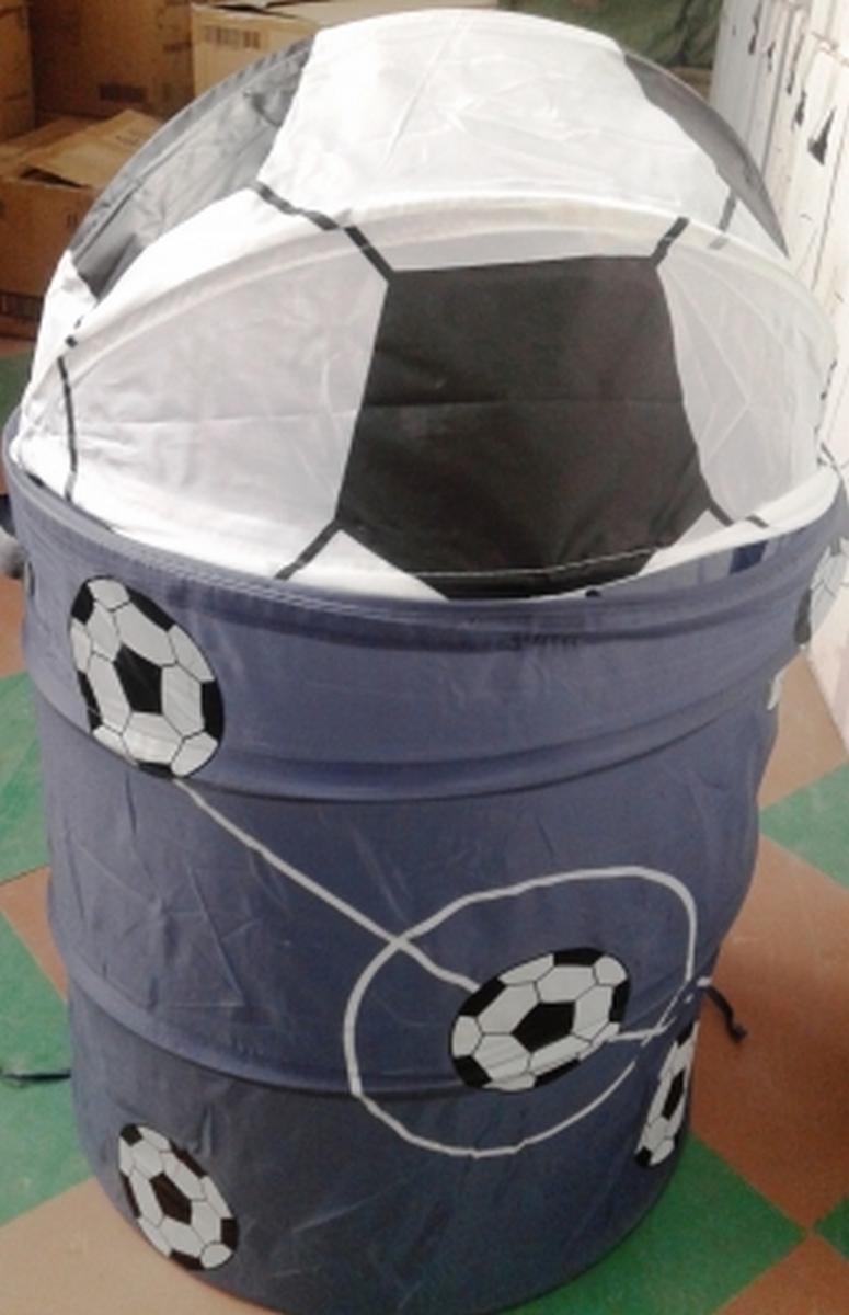 bk toys ltd. Корзина для игрушек 2 вида «Футбол» R1040-41