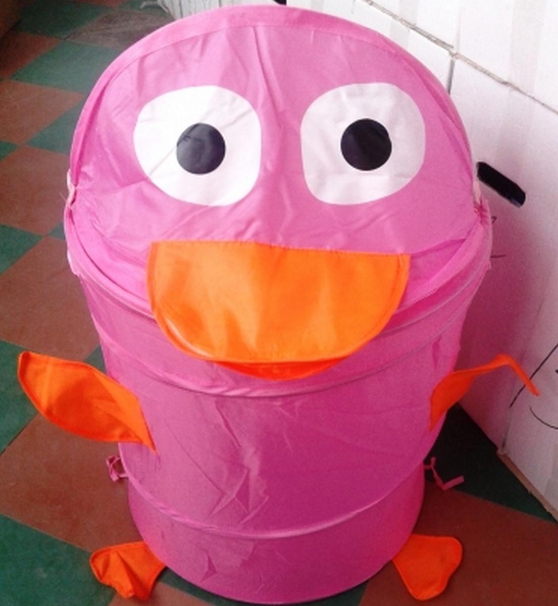 bk toys ltd. Корзина для игрушек «Утенок» R1008