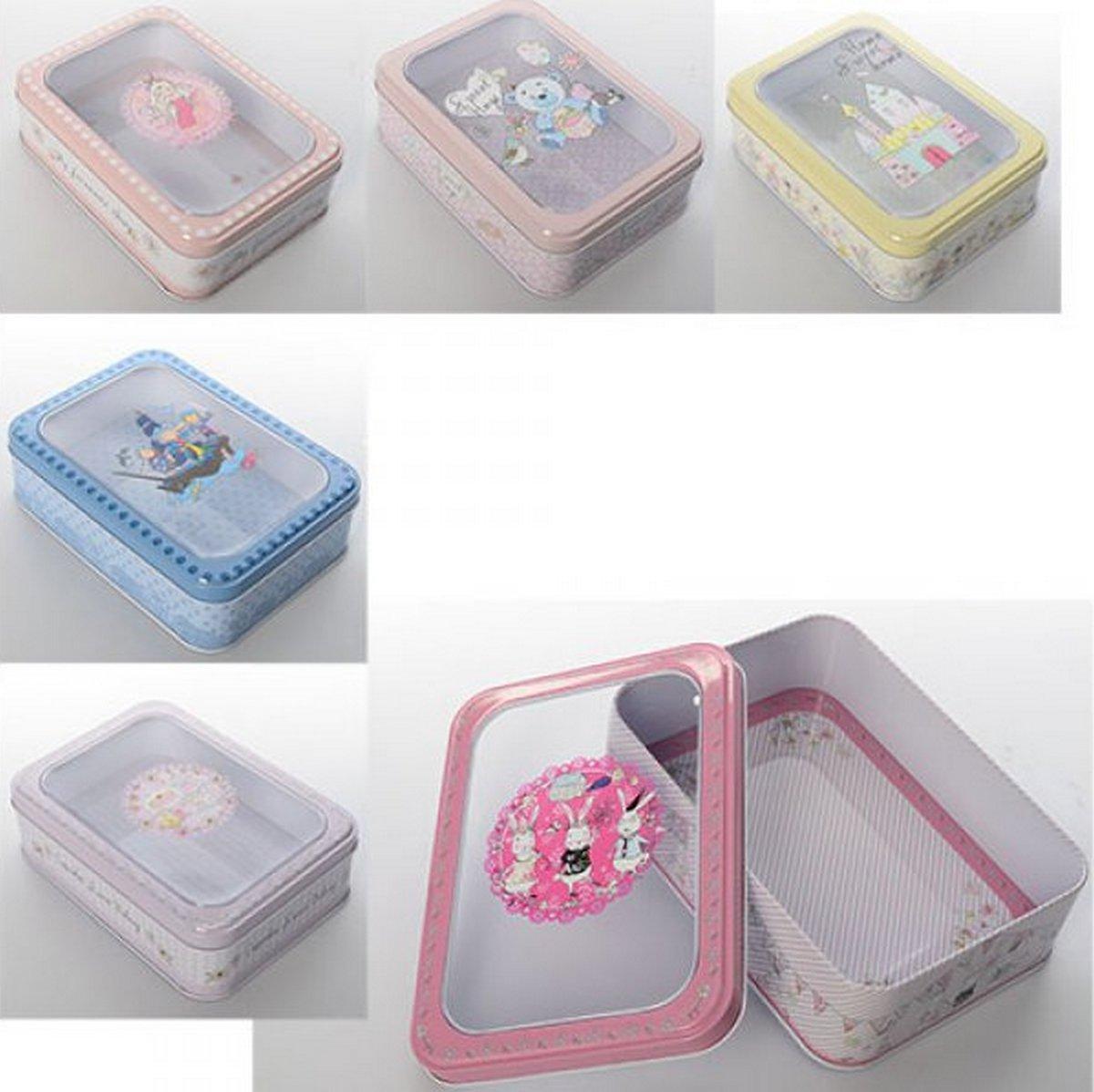 bk toys ltd. Шкатулка металлическая 6 видов X11488
