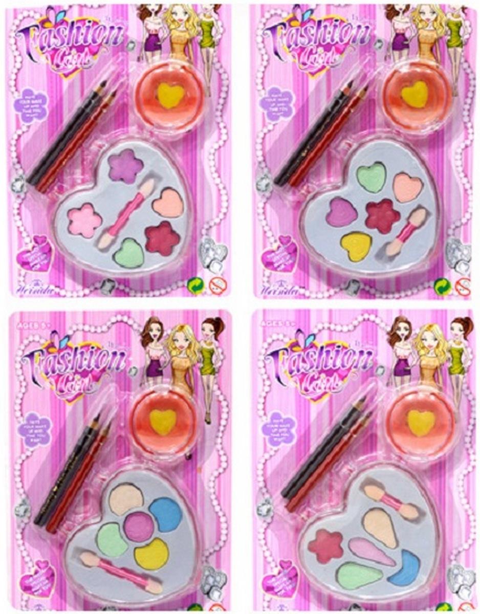 bk toys Детская косметика с карандашами 4 вида V10603C