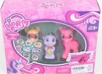 Лошадки «My Little Pony» с дракончиком 2 вида SM3102A