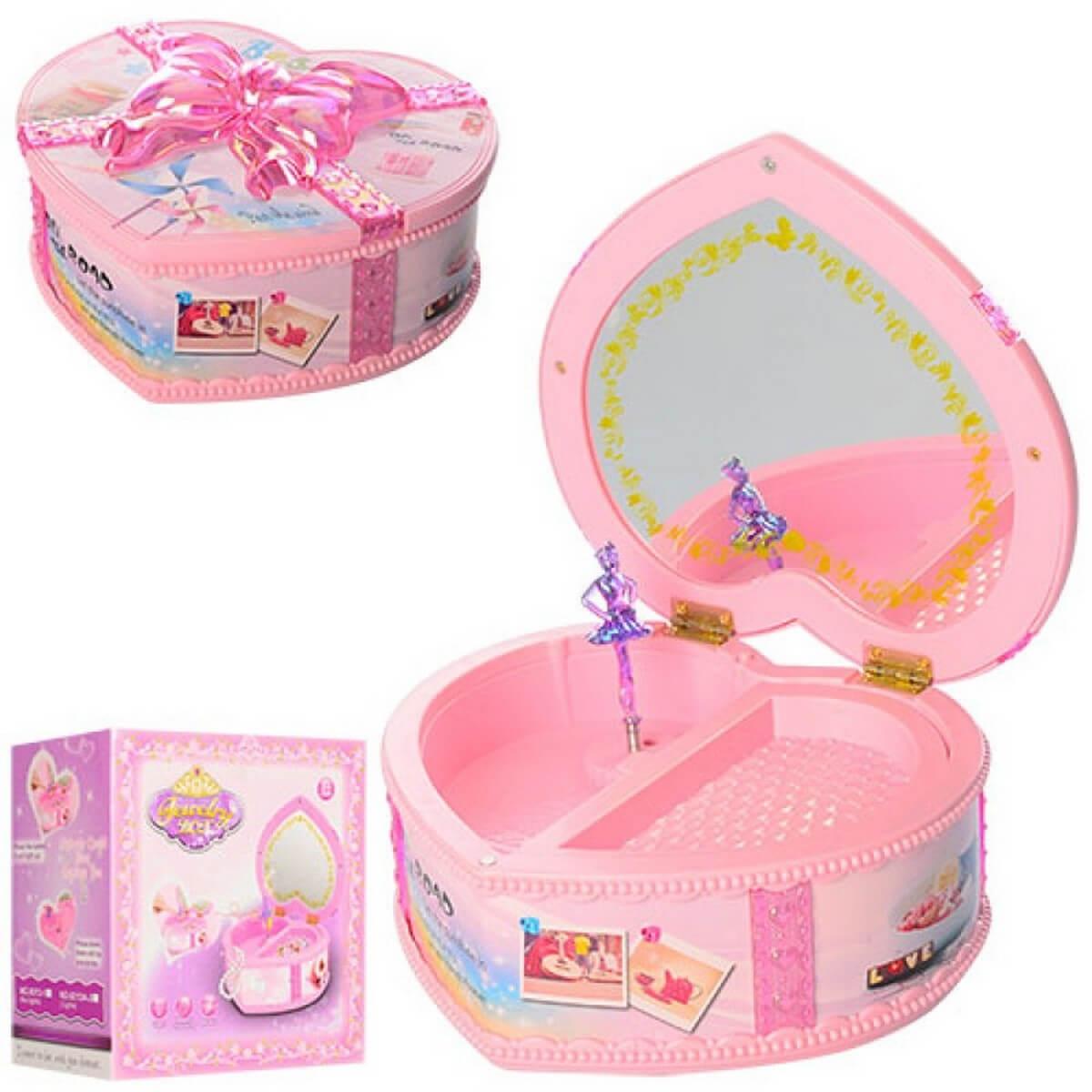 bk toys ltd. Шкатулка заводная «Сердце» 9213-1