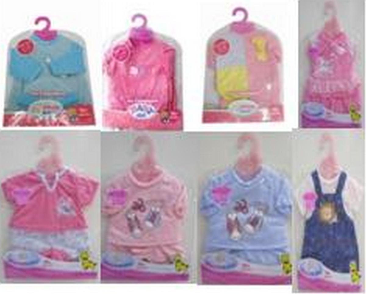 baby doll Одежда на пупса 8 видов DBJ-12342A4324AB59