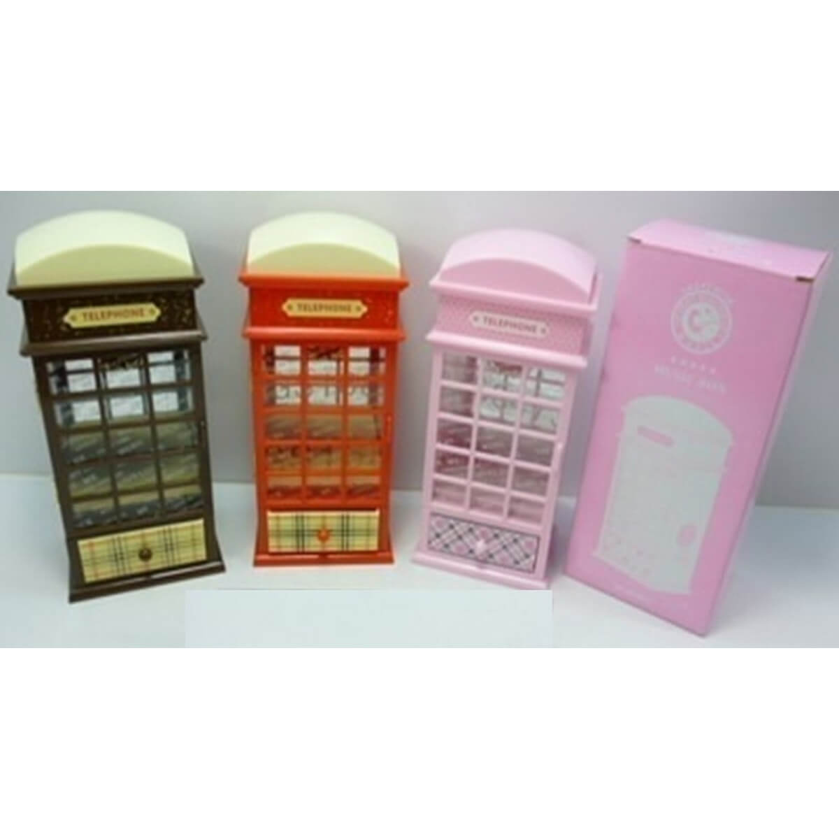 bk toys ltd. Шкатулка «Лондонская телефонная будка» MY60431-4
