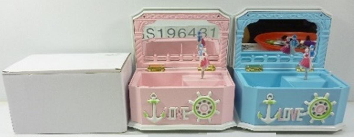 bk toys ltd. Музыкальная шкатулка «Море» 8009