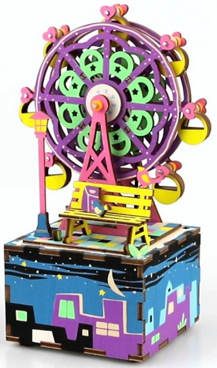 Музыкальная шкатулка-конструктор RoboTime «Колесо обозрения» AM402