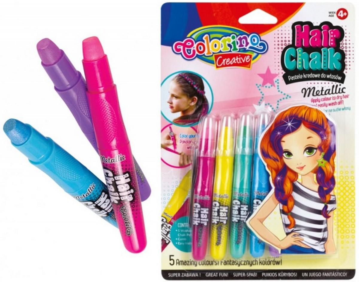 Краски для волос Colorino «Metallic» 5 цветов 68680
